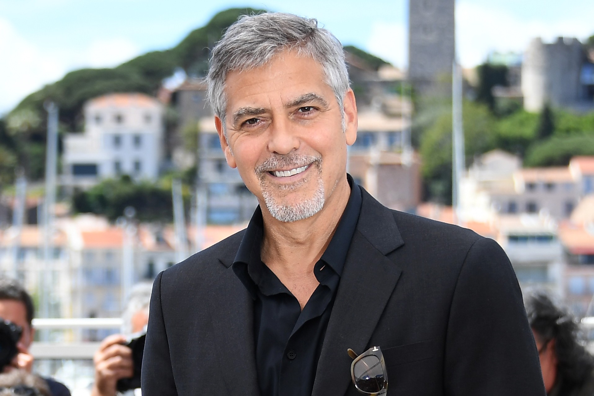 George Clooney short haircuts and beards for men 2018