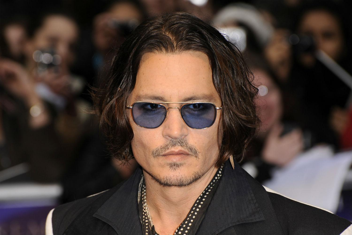 Johnny Depp bob haircuts for men 2018