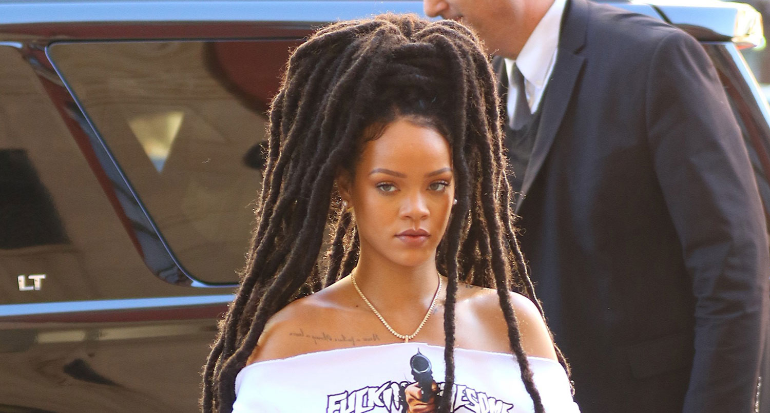 Rihanna dreads hairstyles for 2018