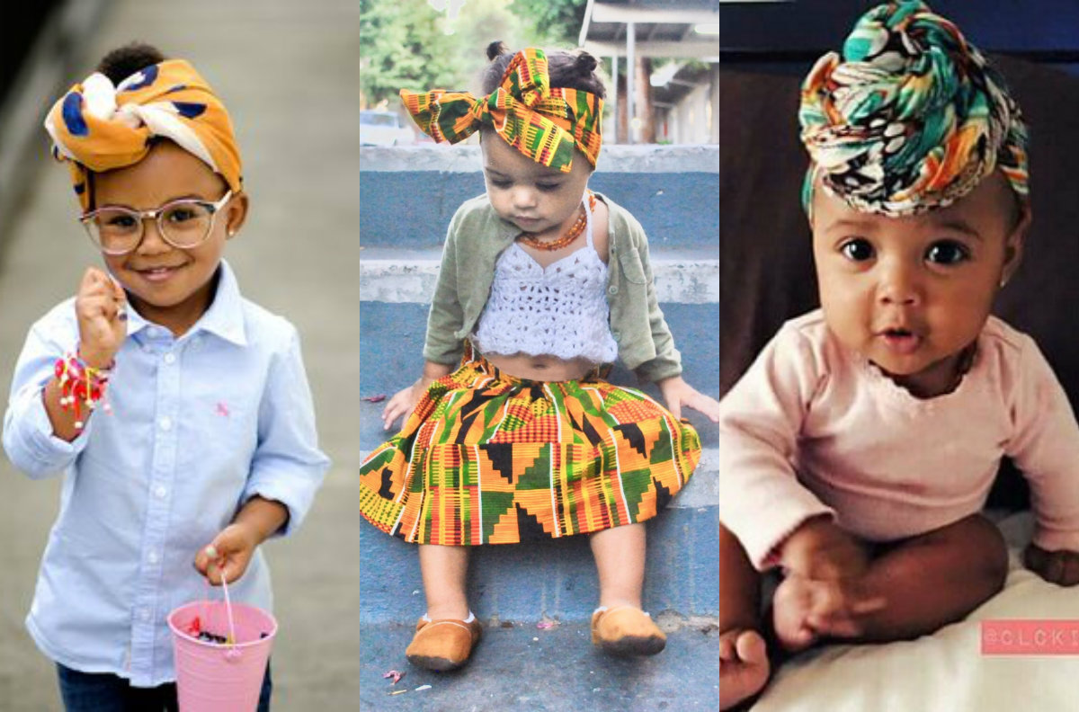 african headwrap hairstyles for kids