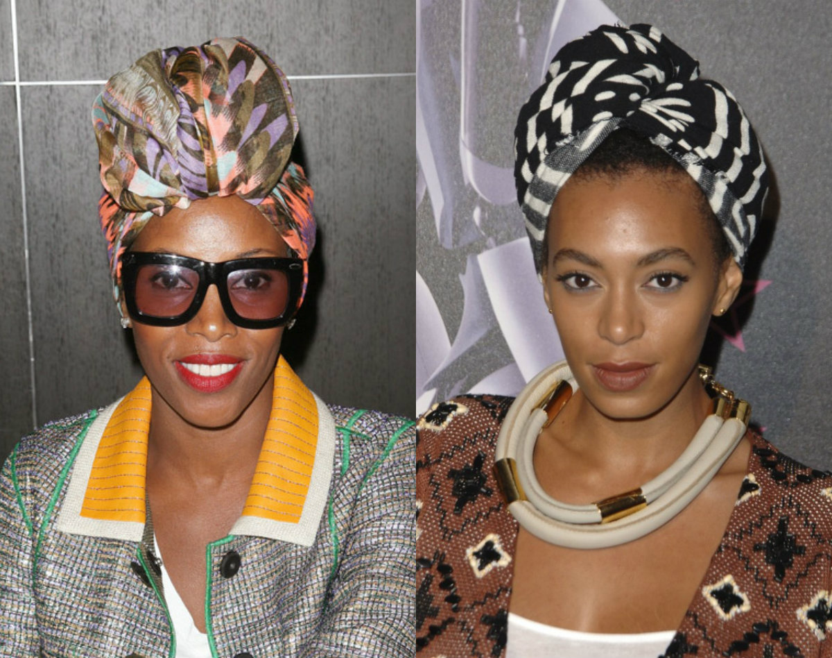 celebrity head wrap hair accessories and hairstyles