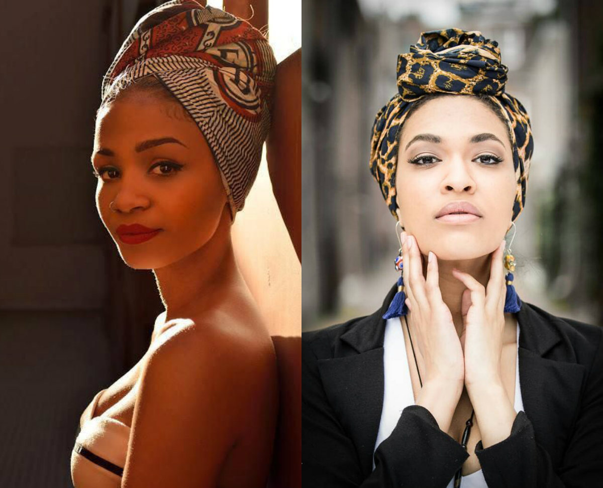 head wrap hair accessories and hairstyles