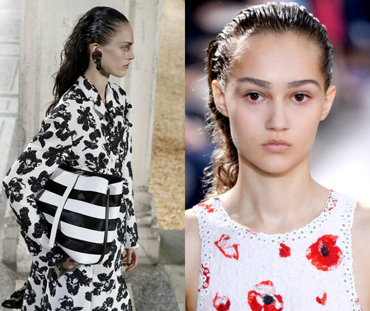 Proenza Schouler hairstyles 2017 fall-winter2018