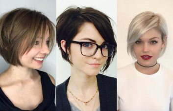 best short layered bob haircuts 2018