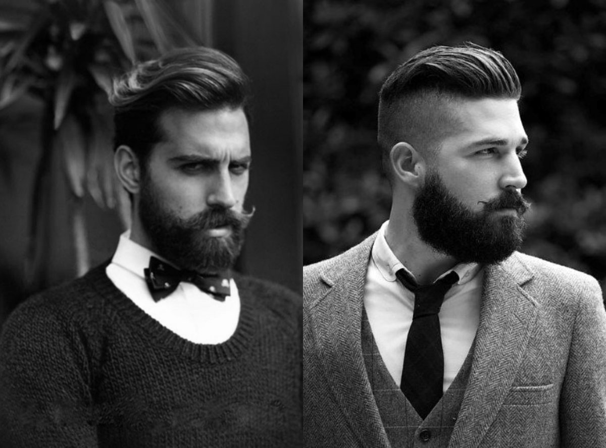 Classy Mens Hairstyles With Beards 2018