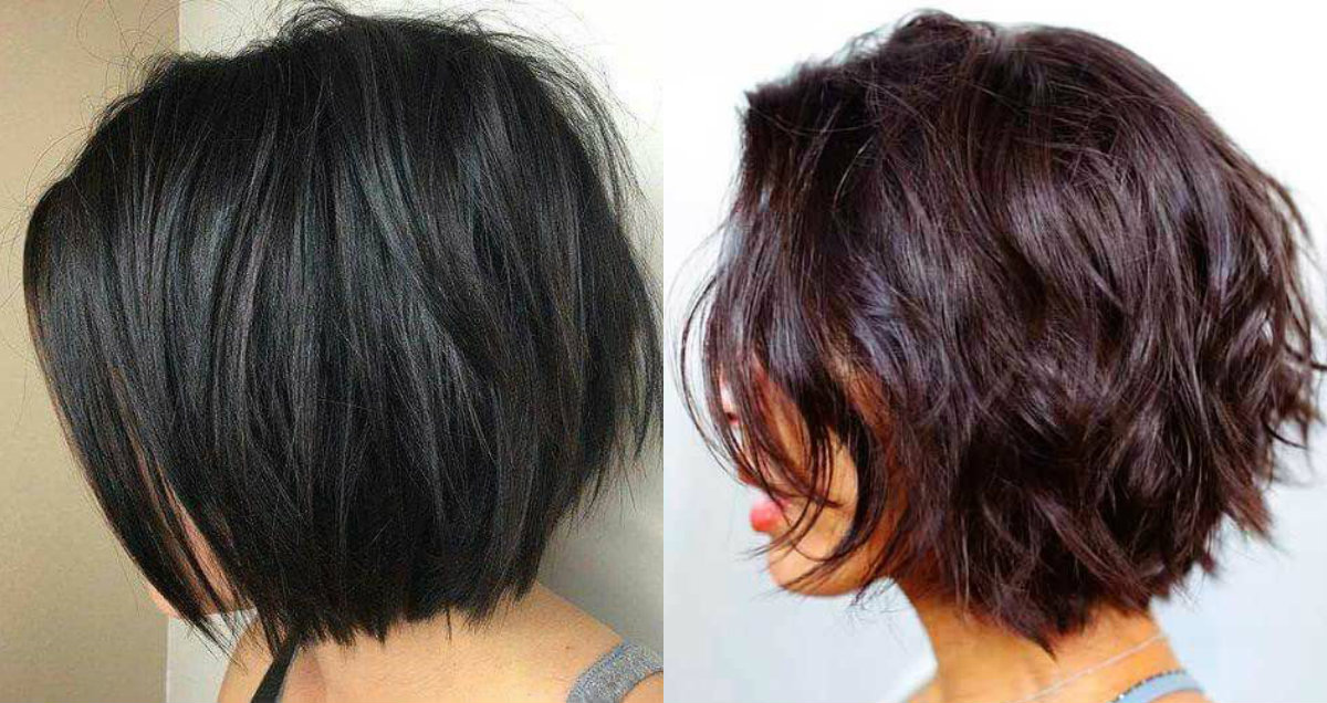 2018 Hairstyle For Dark Hair Color: Timeless Graduated Bob Haircuts 2018