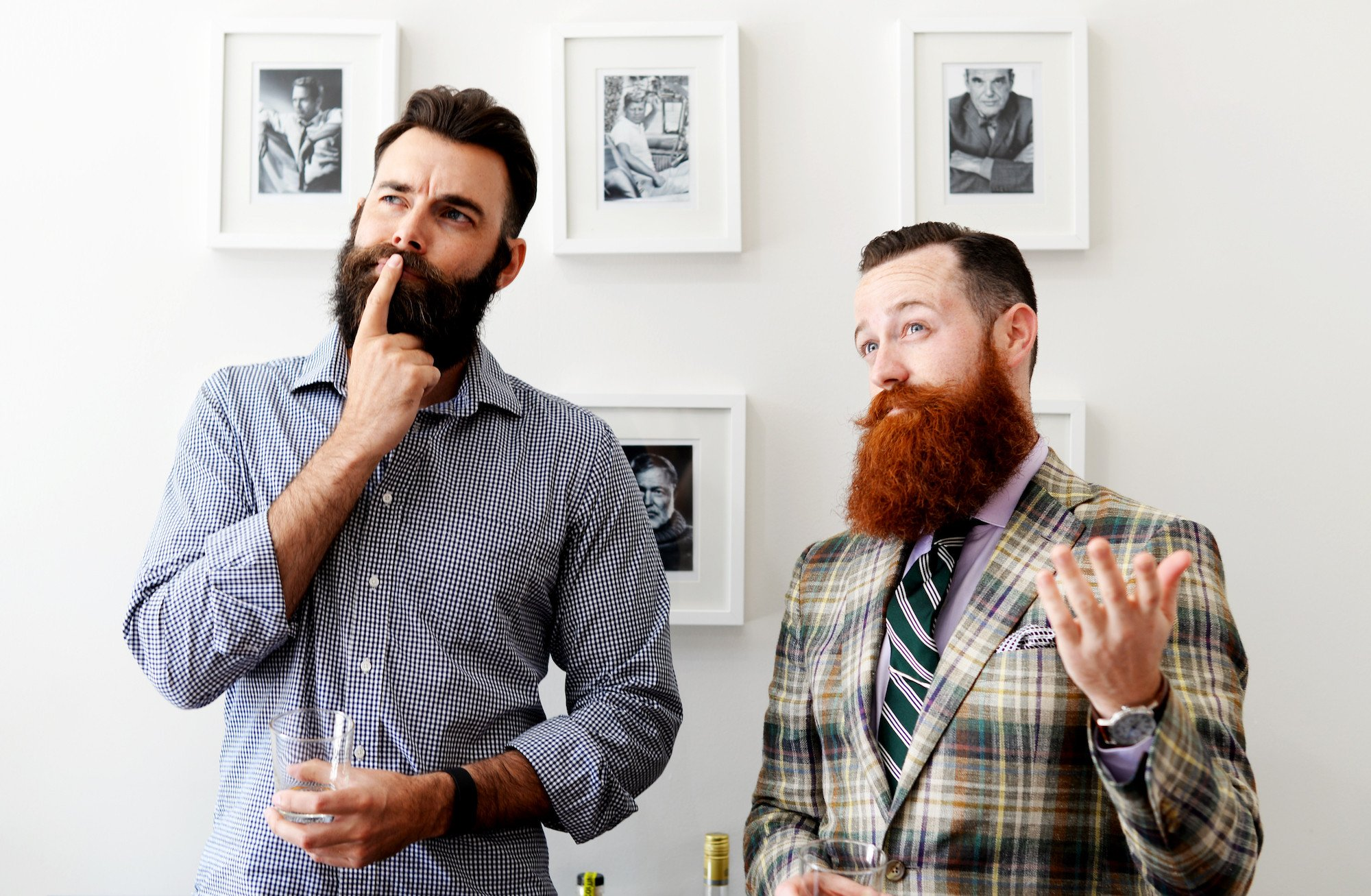 mens short hairstyles and hige beards 2018