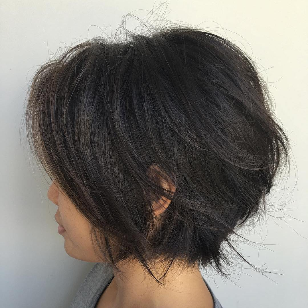 short layered bob haircuts 2018