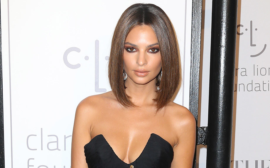 Emily Ratajkowsky bob hairstyles for 2018