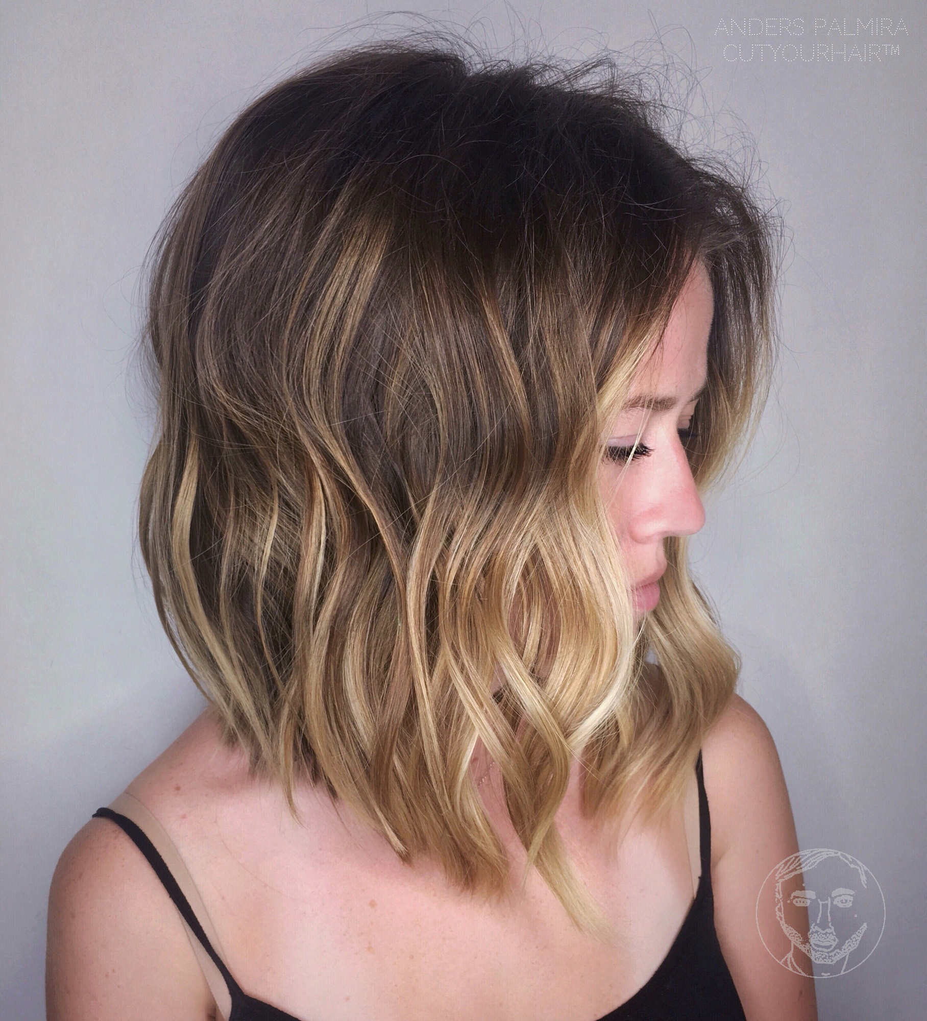 lazy wavy hairstyles 2018 summer