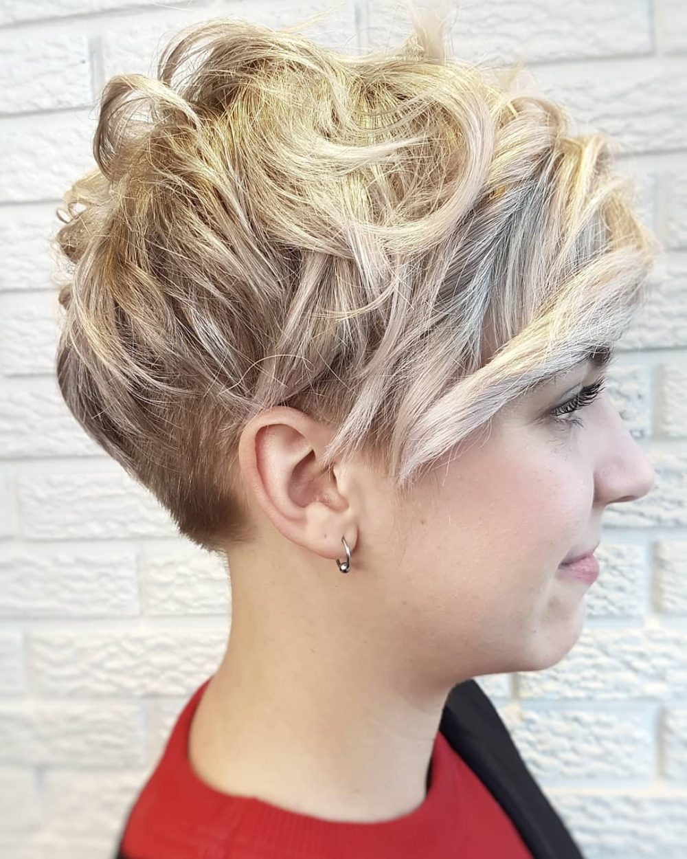 pixie beach waves hair