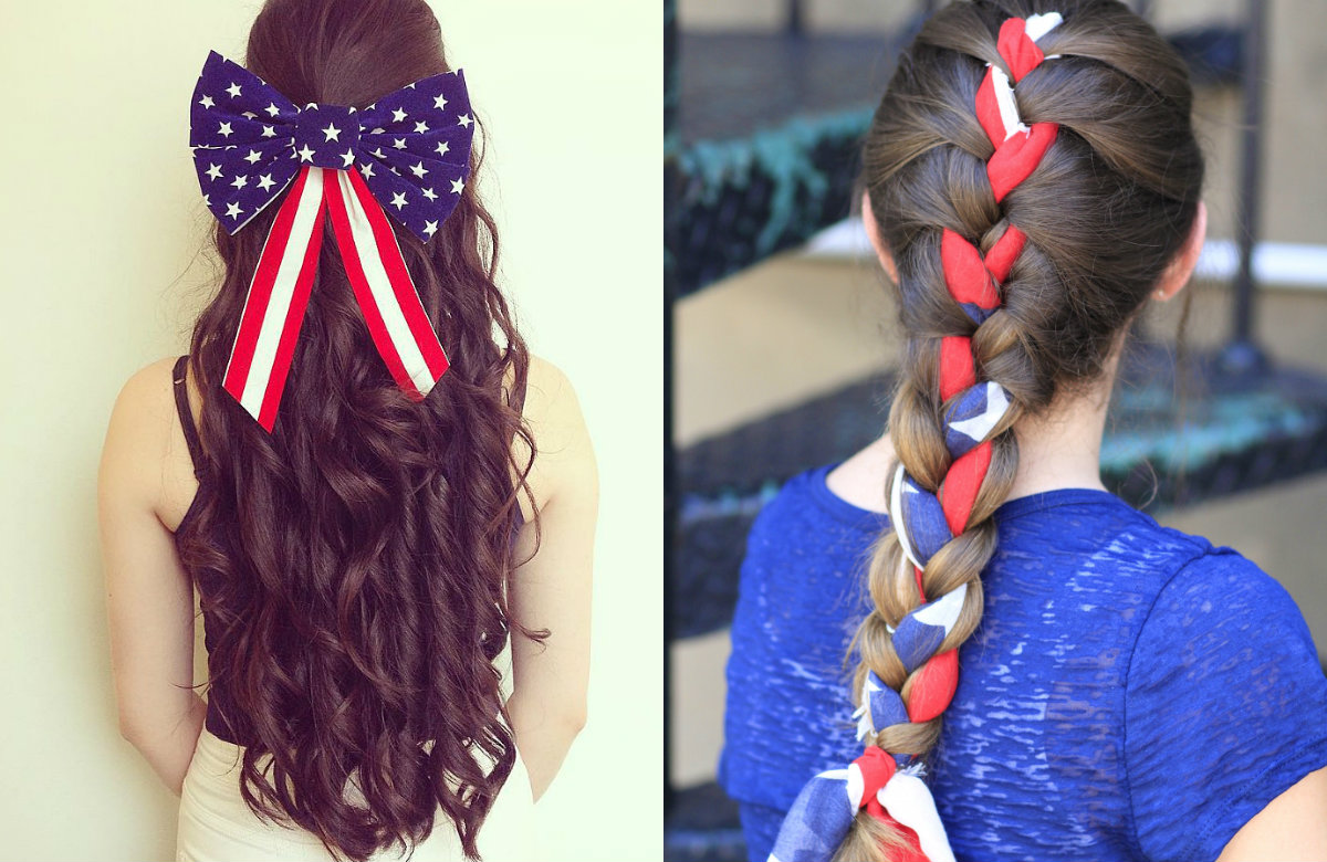 4th of july hair styles fourth of july patriotic hairstyles hairstyles haircuts 5284