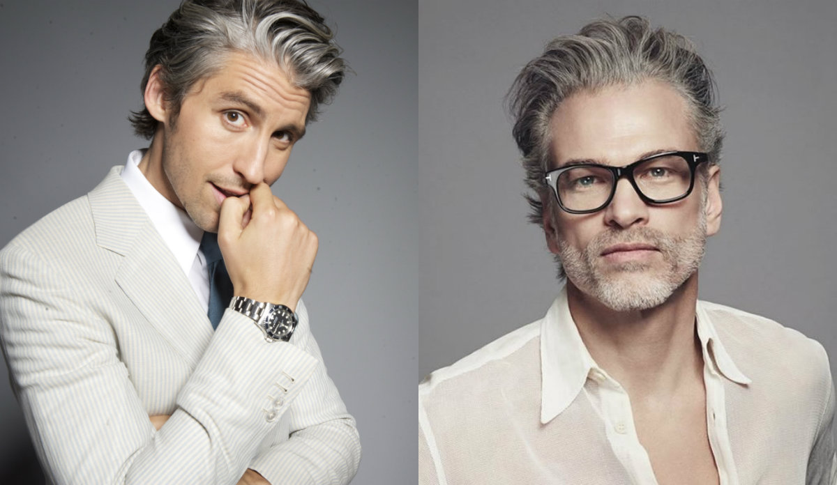 mature men attractive grey hairstyles | hairstyles, haircuts and