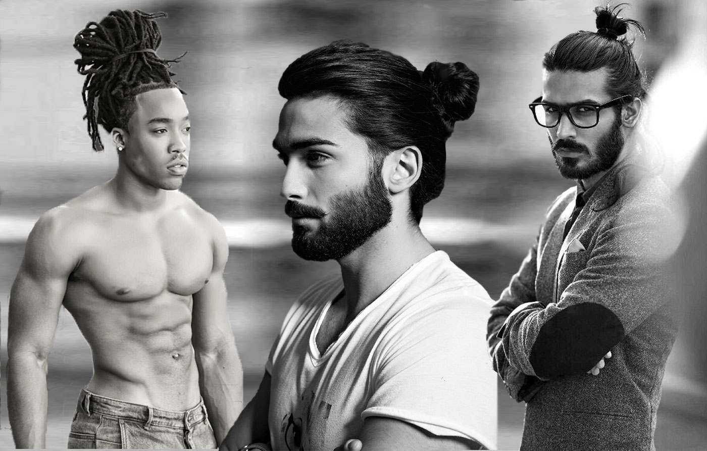 Trendy Amp Sensual Male Top Knots Hairstyles Haircuts And