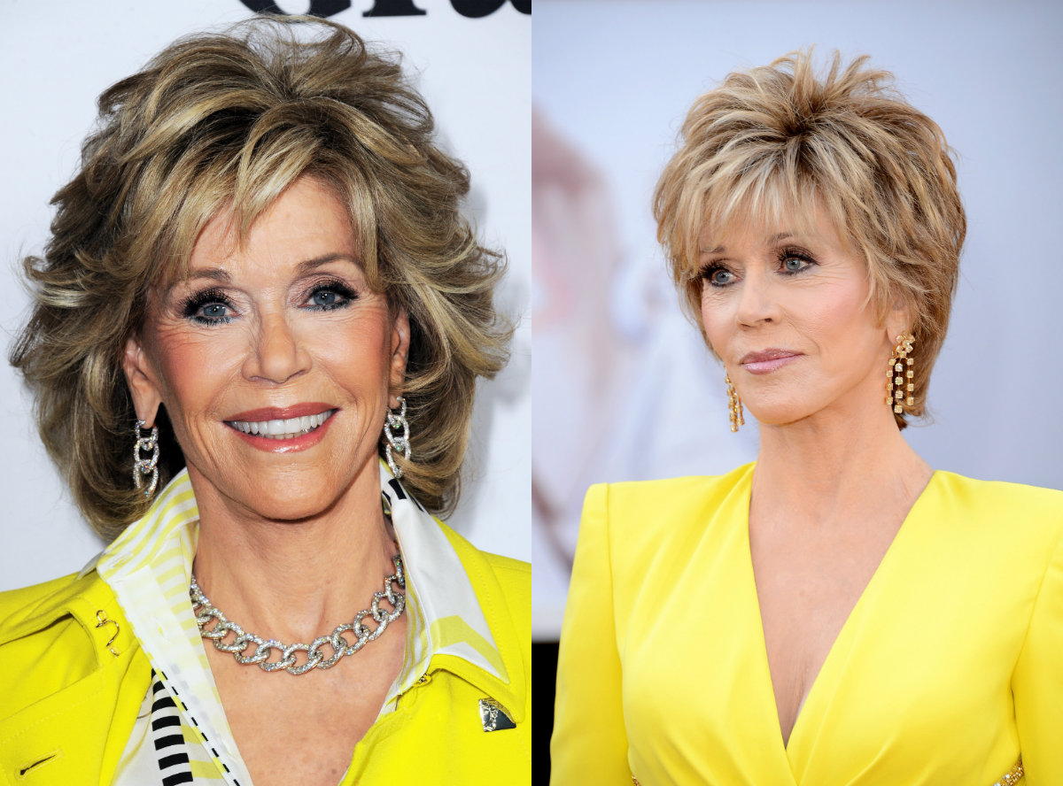 Jane Fonda Short Haircut Best Short Hair Styles