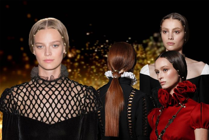 Valentino Couture 2017 hairstyles