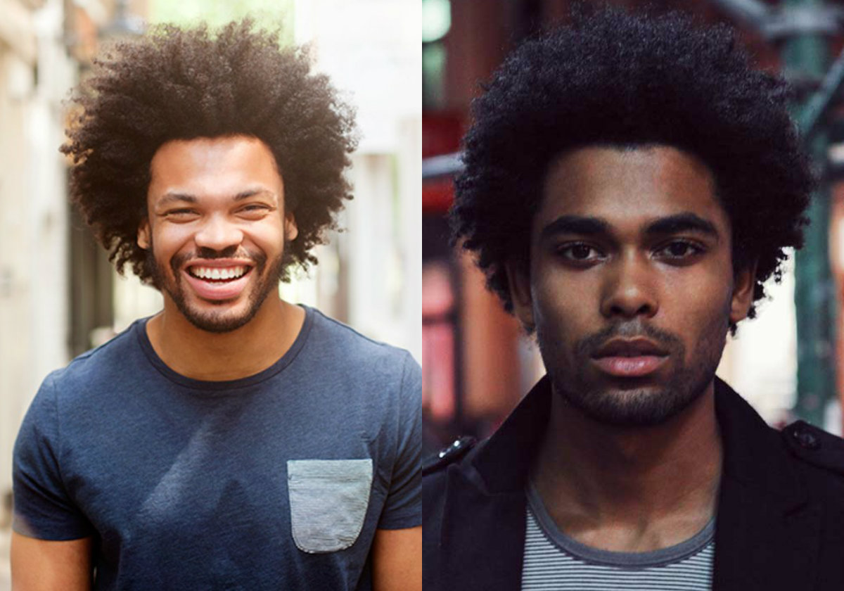cool black male afro hairstyles: get natural looks | hairstyles