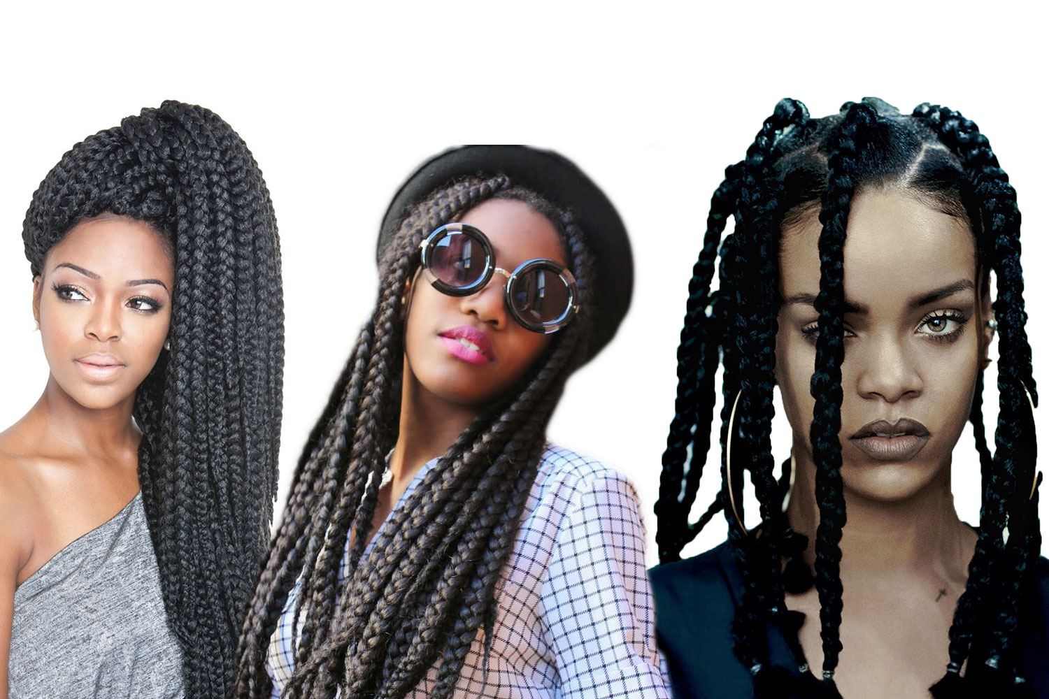 Big Box Braids For Black Women To Style Immediately