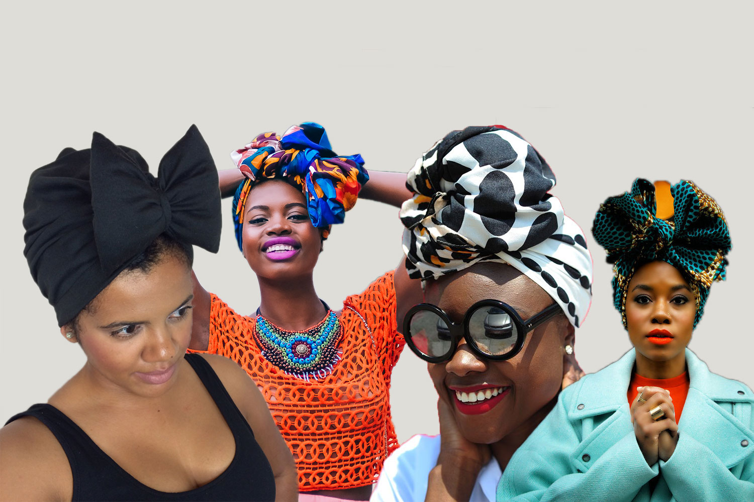 Black Women Hairstyles With Head Wraps To Show Off