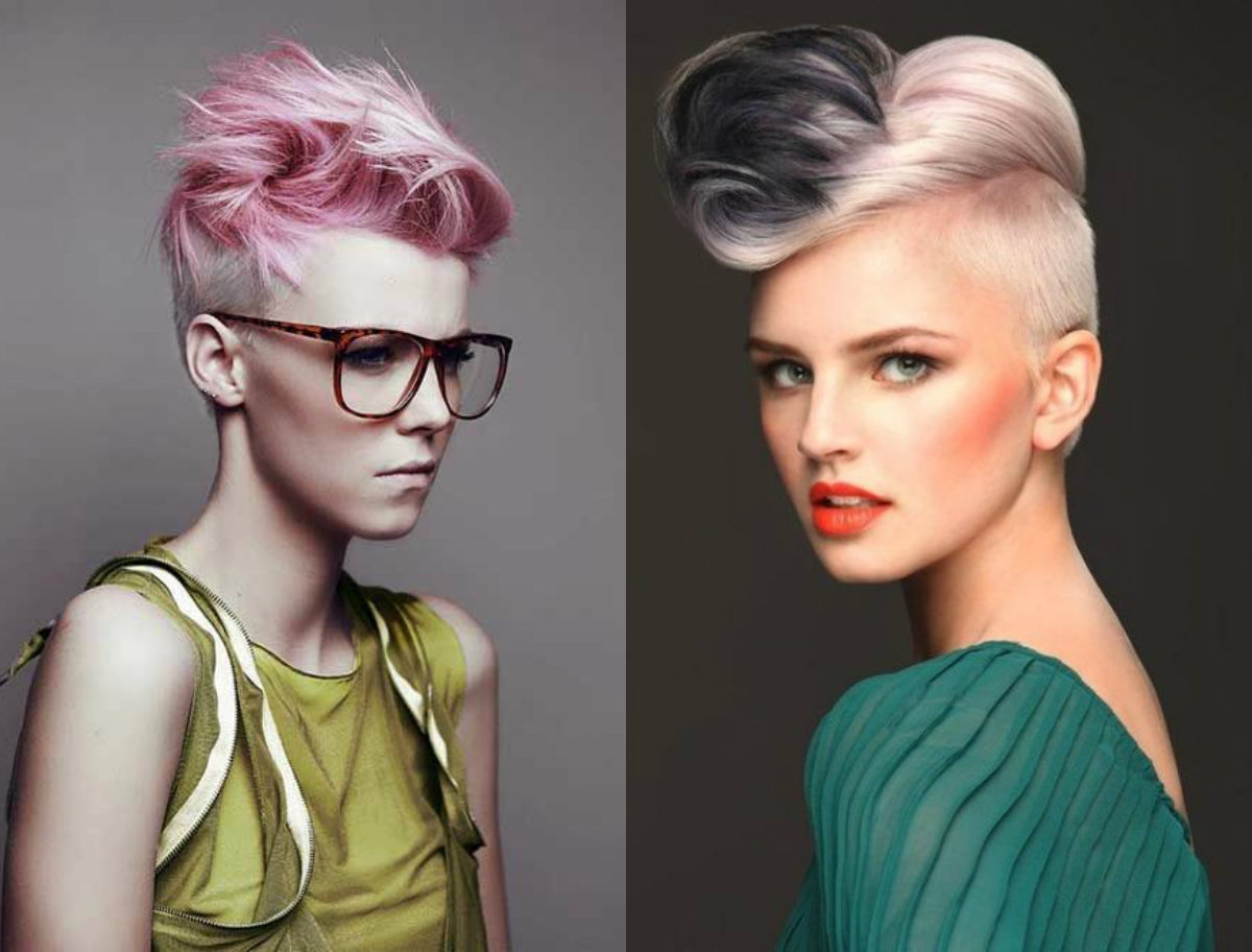 mohawk hairstyles for women that have something to say