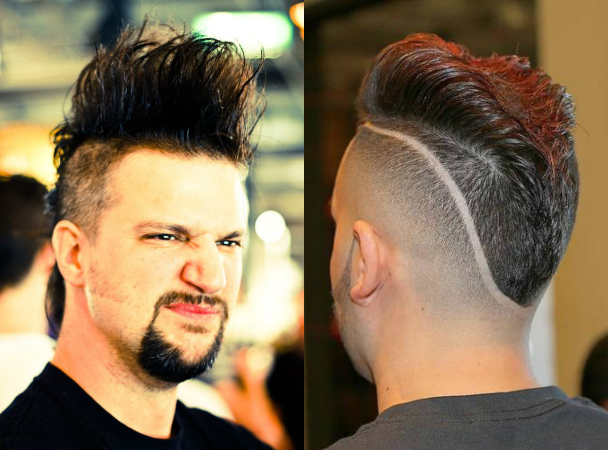 Images Of Hairstyle For Men Semi Mohawk Spacehero