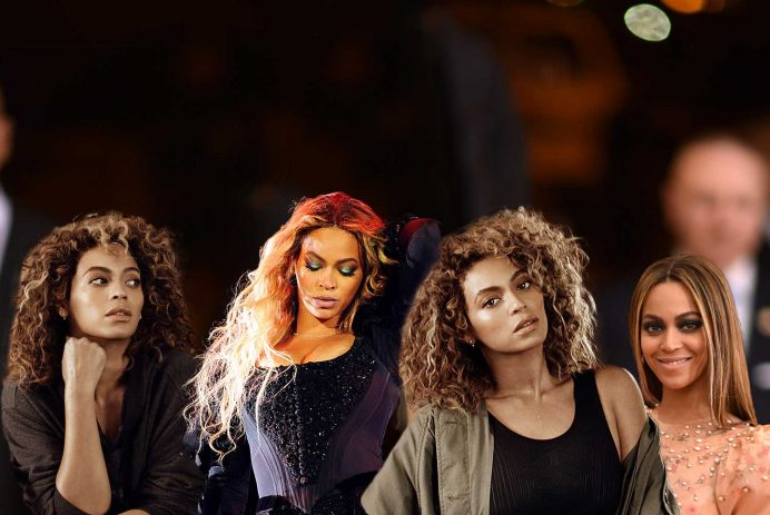 Beyonce best celebrity hairstyles