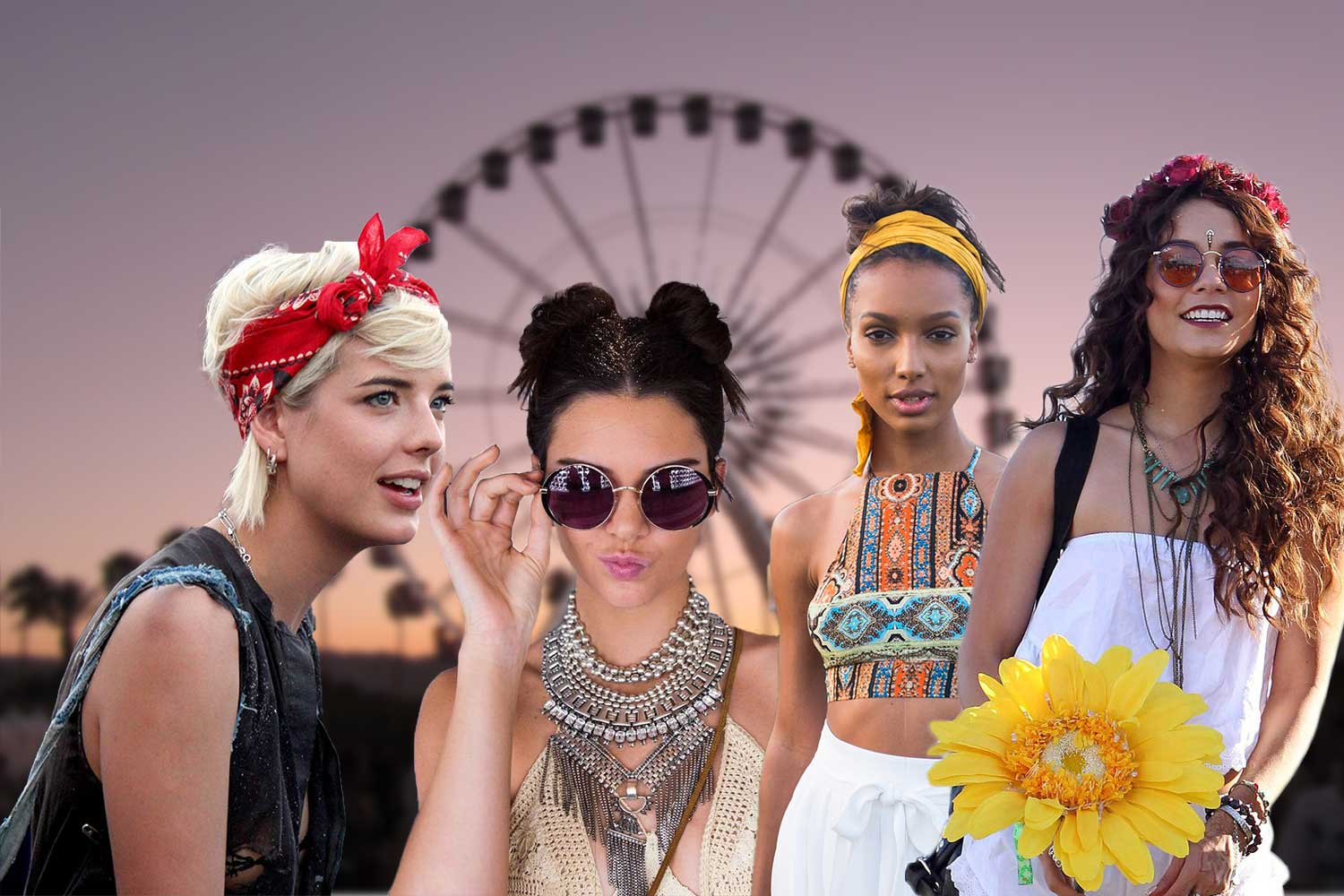 Festival Hair And Boho Looks To Feel The Vibes
