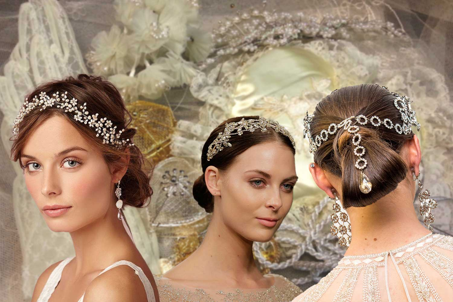 wedding hairstyles & accessories to make you look like a princess