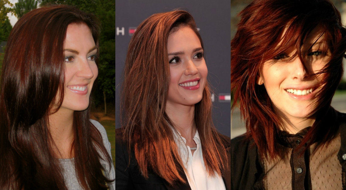 Warm Auburn Hair Colors For Cold Fall Winter 2017 Hairstyles Haircuts And Hair Colors On
