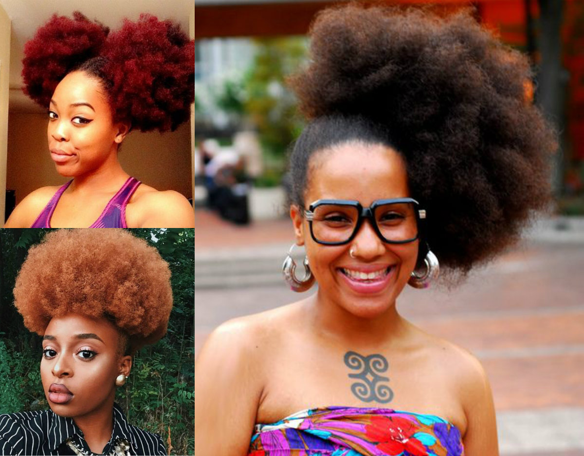 Astounding Black Women Afro Puffs You Have To Try ... - photo#48
