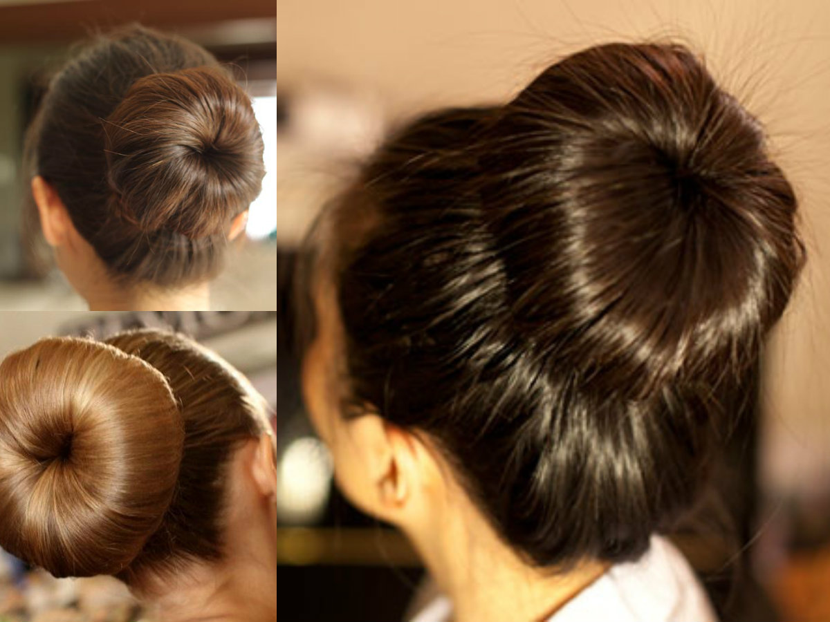 Easy Classy Donut Bun Hairstyles To Create Neat Image Hairstyles Haircuts And Hair Colors On