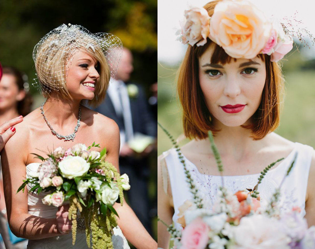 trending bob wedding hairstyles for 2017 | hairstyles, haircuts