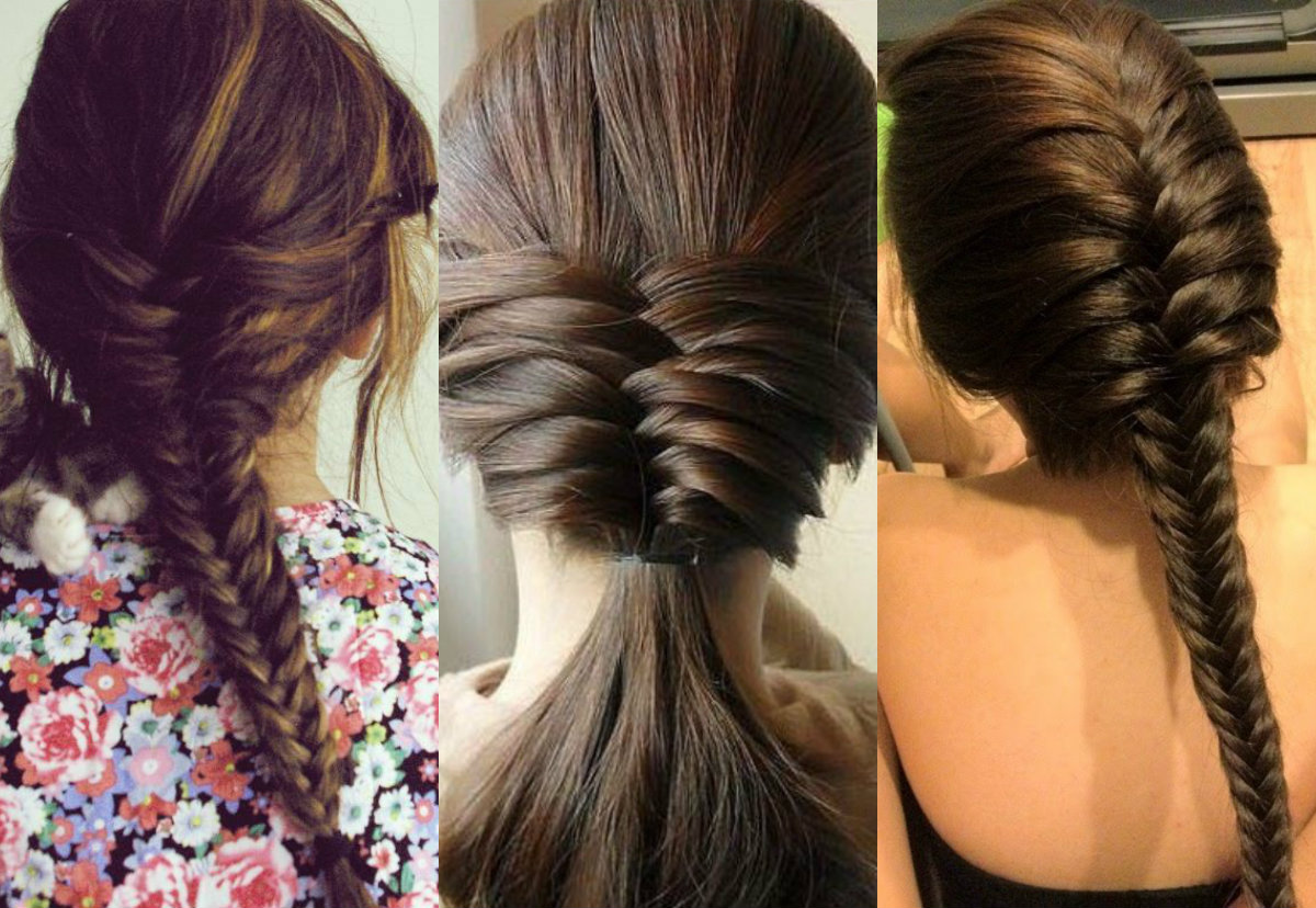 Fishbone Braid Hairstyles Ideas To Try Hairdrome Com