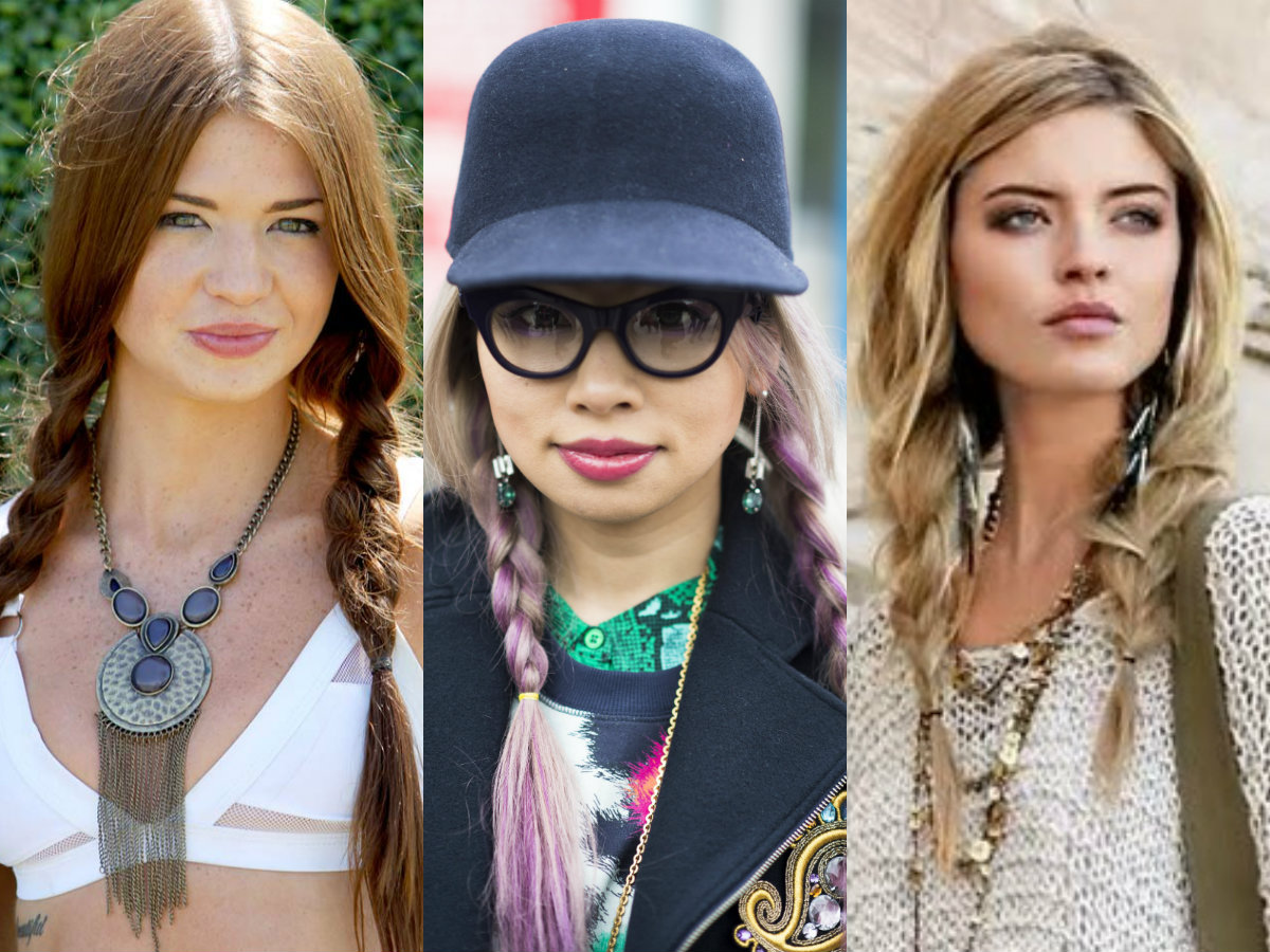 pigtail braids hairstyles triumphal popularity | hairdrome