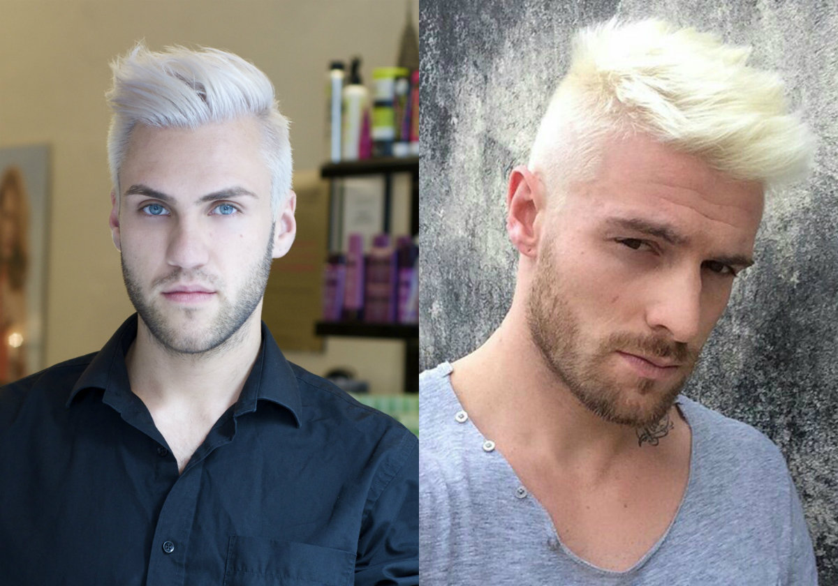 platinum blonde men's hairstyles to be the trend? | hairdrome