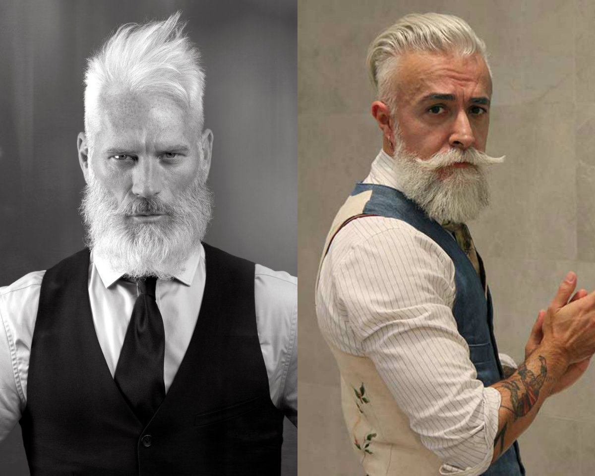 Hairstyles For The Older Man Fade Haircut