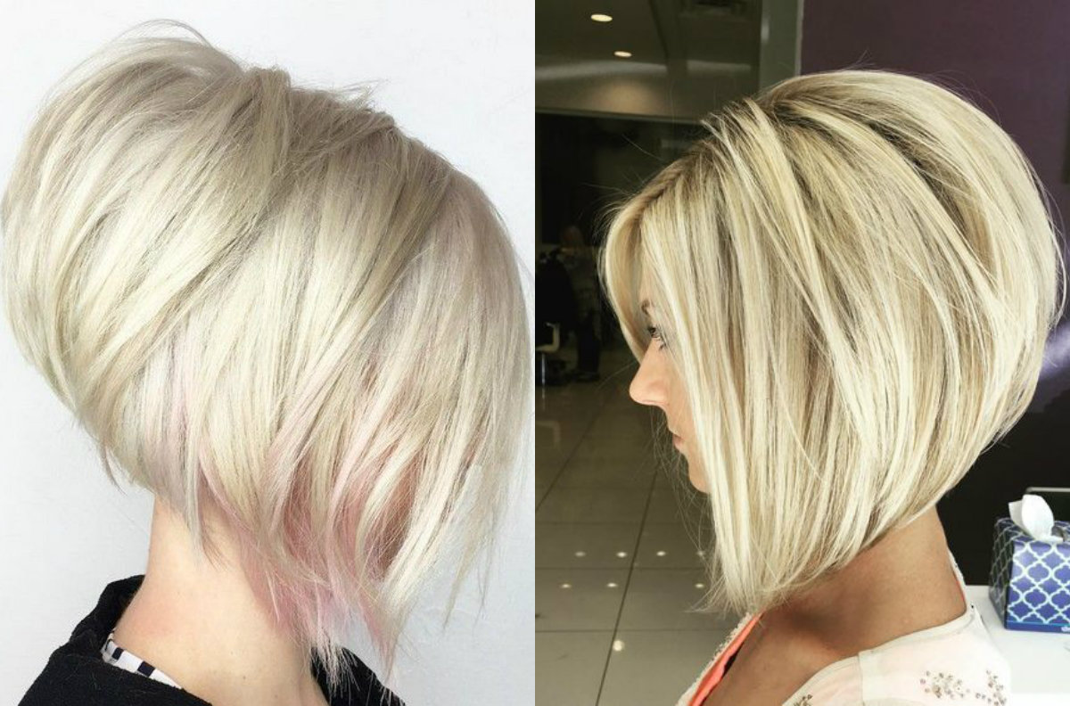 Messy Layered Stacked Bob Hairstyles Hairstyles