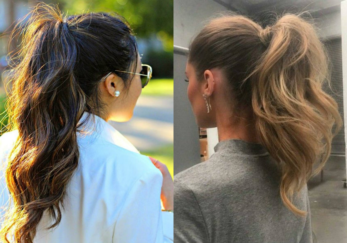 perfectly easy ponytail hairstyles | hairdrome