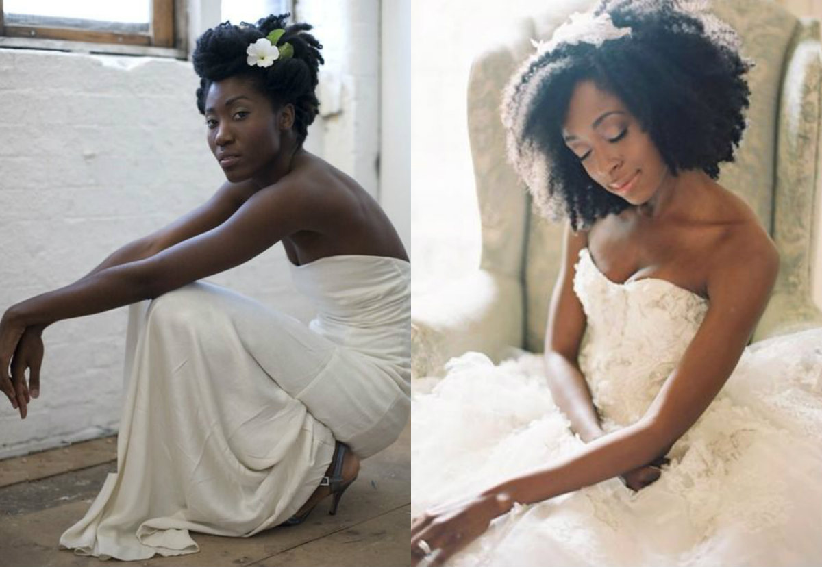get to know natural hair wedding hairstyles 2017   hairdrome