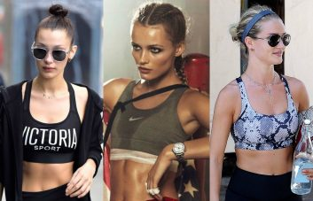 best hairstyles for gym