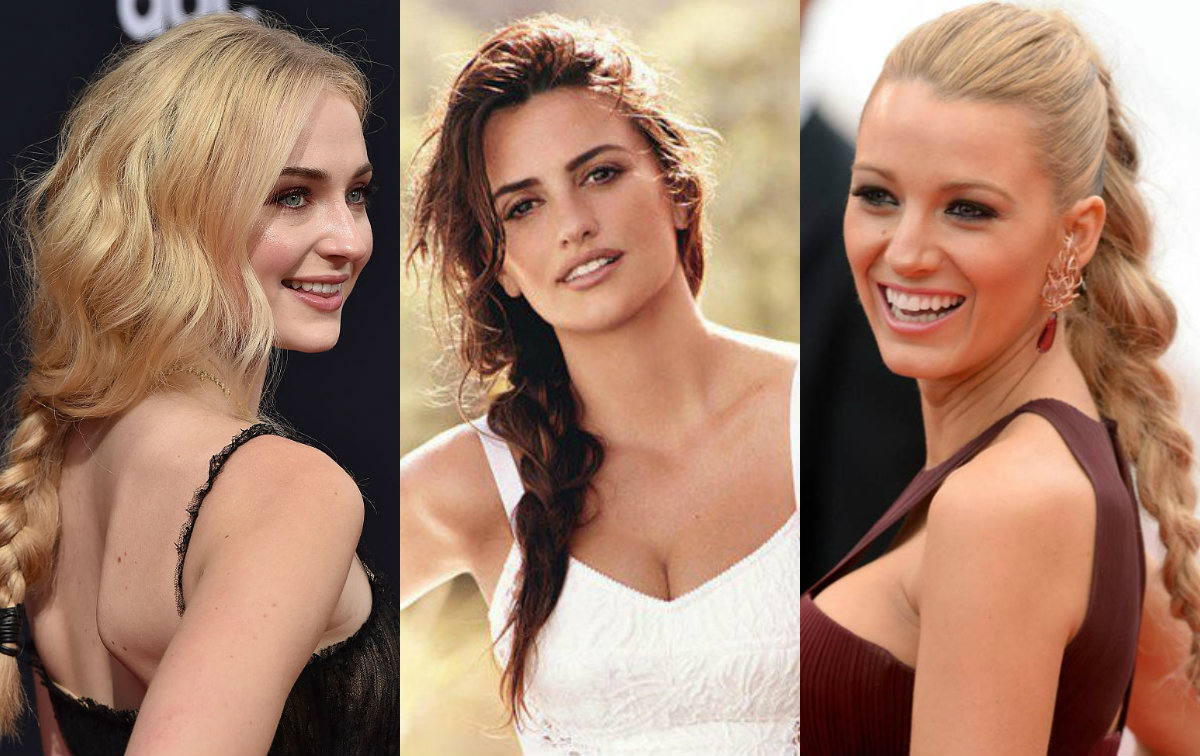 celebrity inspiration: braided ponytail hairstyles | hairdrome