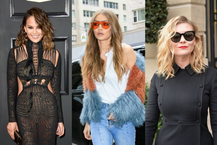 best celebrity wavy hairstyles for spring 2017