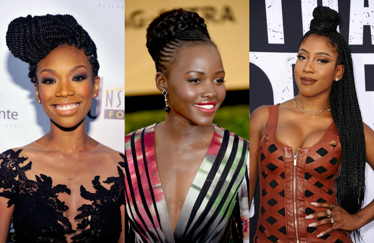 Celebrity Box Braids Hairstyles Get Ispired