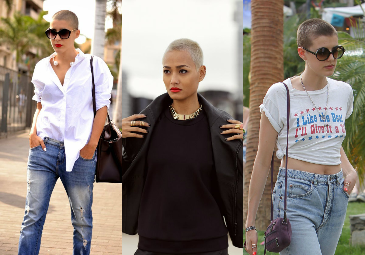Shaved Heads Amp Female Buzz Cut Hairstyles Hairdrome Com