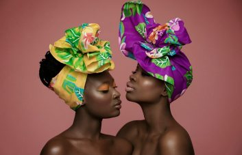 african hairstyles and head wrap hair accessories