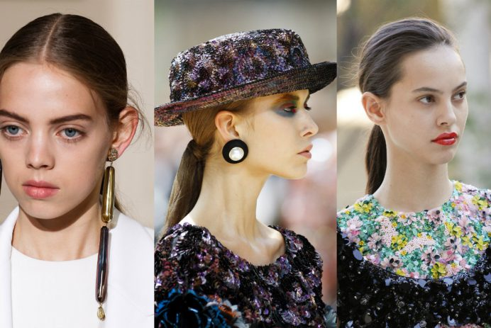 fall-winter 2017-2018 main hair trends from Couture Week