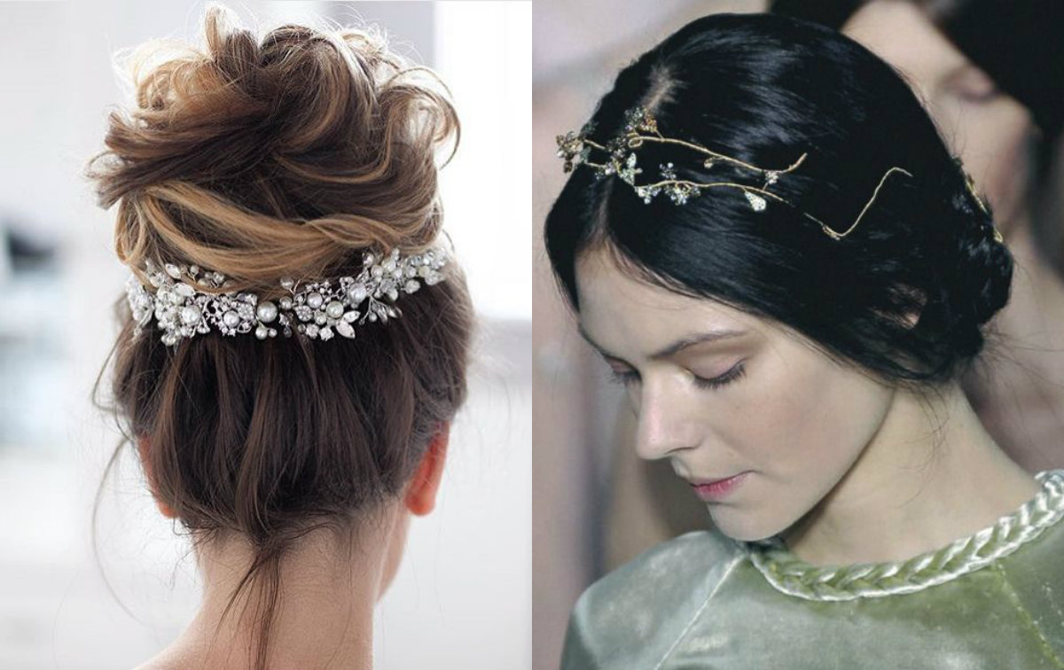 10 enchanting wedding hairstyles 2018 | hairdrome